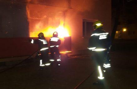 Brand am Balkon einer Wohnhausanlage