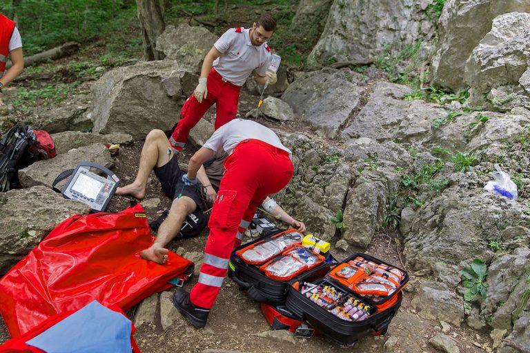 20160704 Kletterunfall Helenental bei Baden