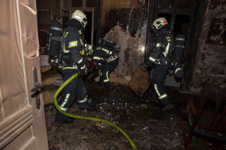 20161226 Wohnungsbrand in Baden Foto: Stefan Schneider