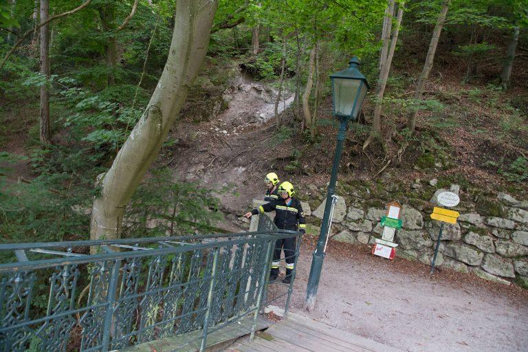 20170826 Felssturz am Badener Wegerl im Helenental fordert Teils