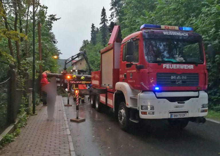 20180725 Unwetter über Weissenbach a.d.Triesting  Foto: FF Weis