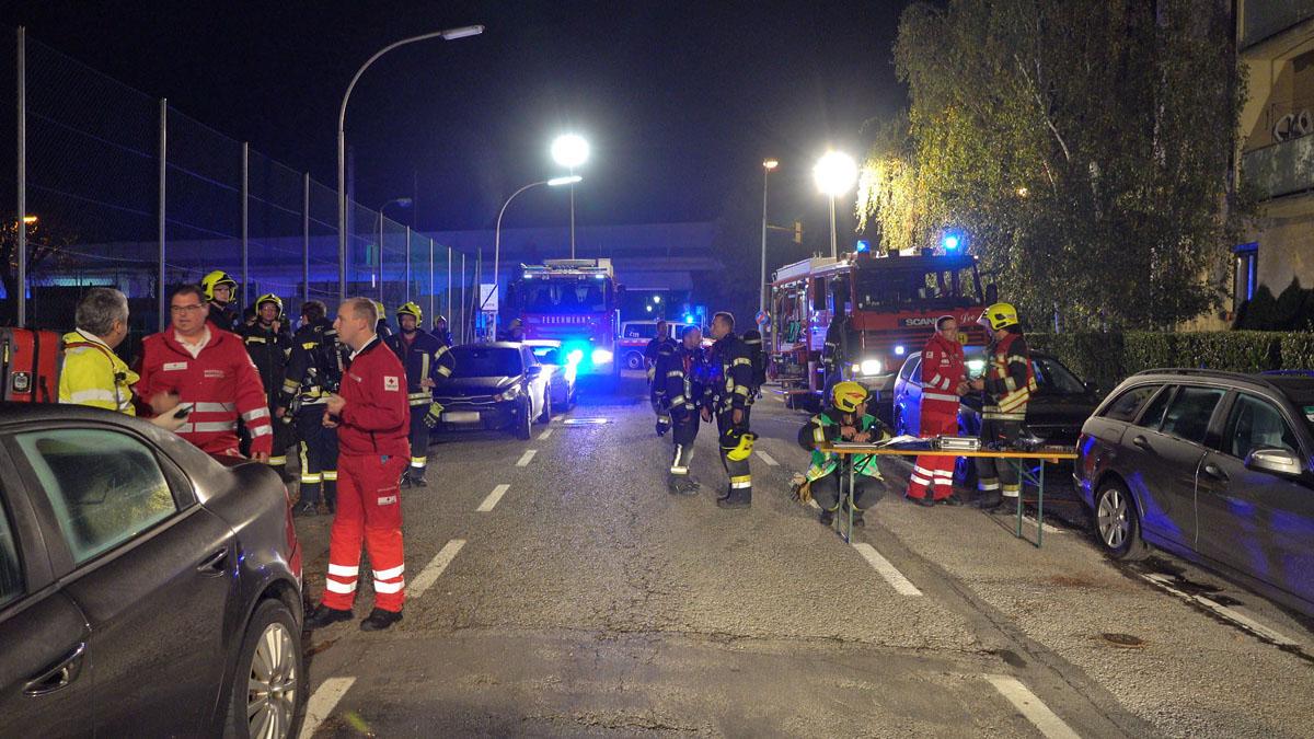 20181018 Schadstoffeinsatz in Baden Leesdorf Foto: Stefan Schne