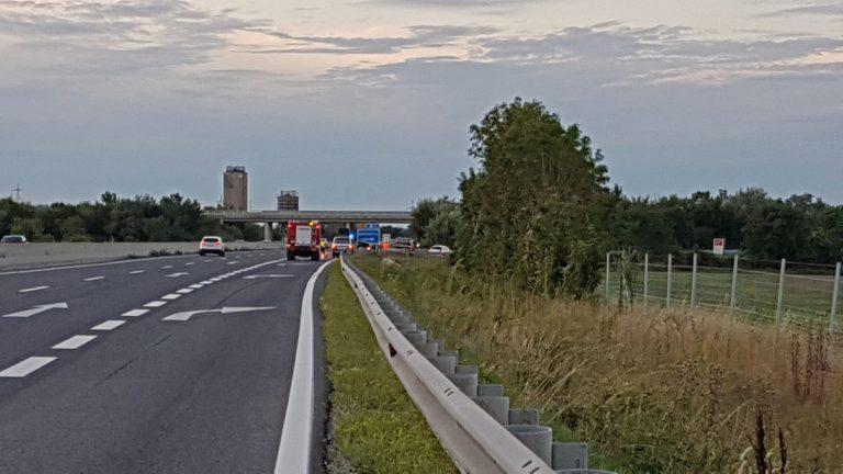20190817 Verkehrsunfall A3 Pottendorf-Ebreichdorf  Foto: FF Pott