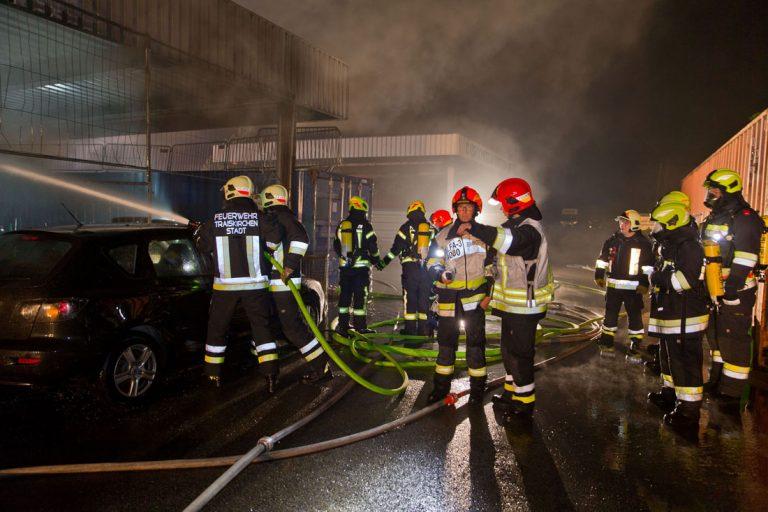 20190512 Großbrand Oeyenhausen Autohaus  Foto: Stefan Schneider
