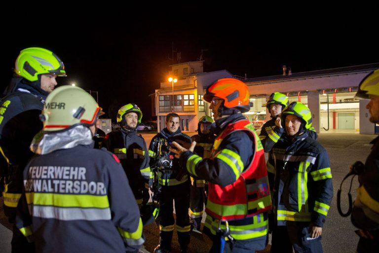 20190711 Brand nach Einbruch in Einkaiufsmarkt in Oberwaltersdor