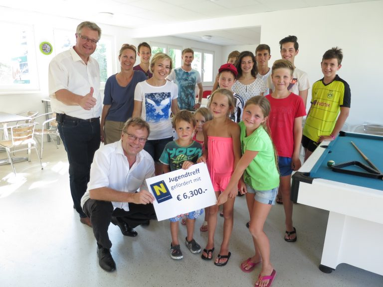 Oberwaltersdorf Förderung Jugendtreff