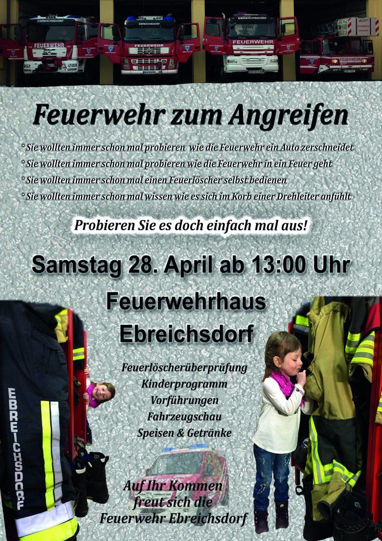 Plakat Tag der offenen Tür 2