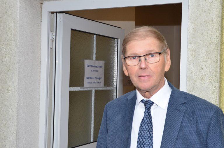Reisenberg: Bürgermeister Josef Sam (SPÖ)