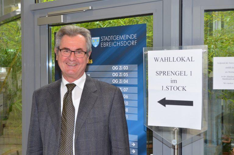 Ebreichsdorf: VP-Spitzenkandidat Heinrich Humer