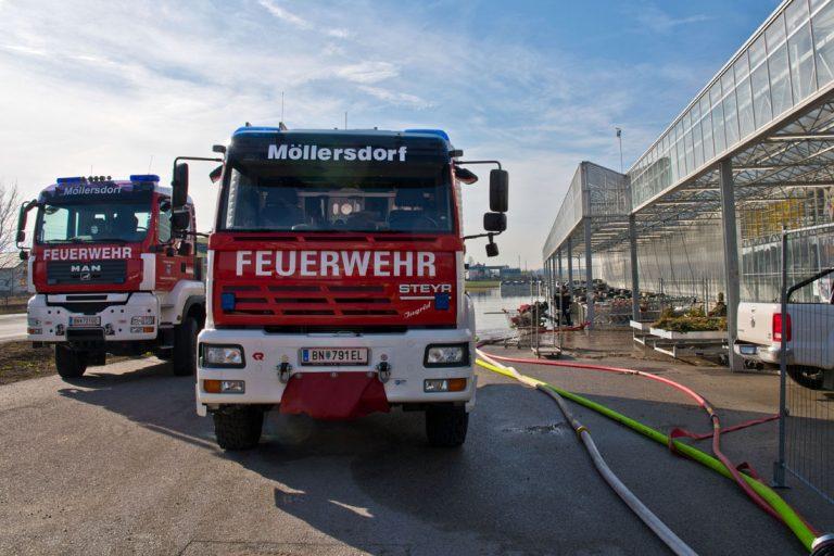 20200217 Mehrtägige Pumparbeiten nach Rohrbruch in Möllersdorf