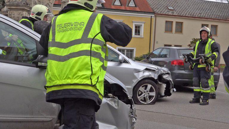 20200322 Verkehrsunfall in Traiskirchen