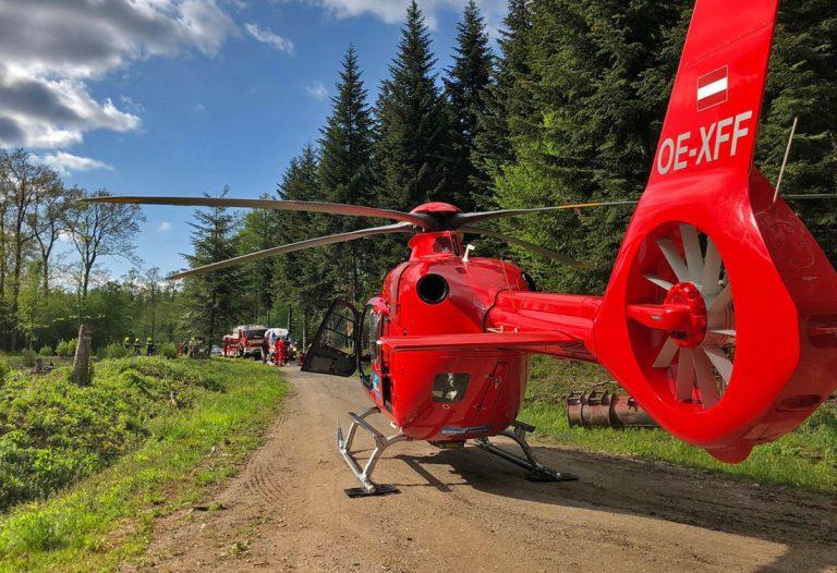20200506 Reitunfall im Waldgebiet Ranzenbach bei Klausen-Leopold