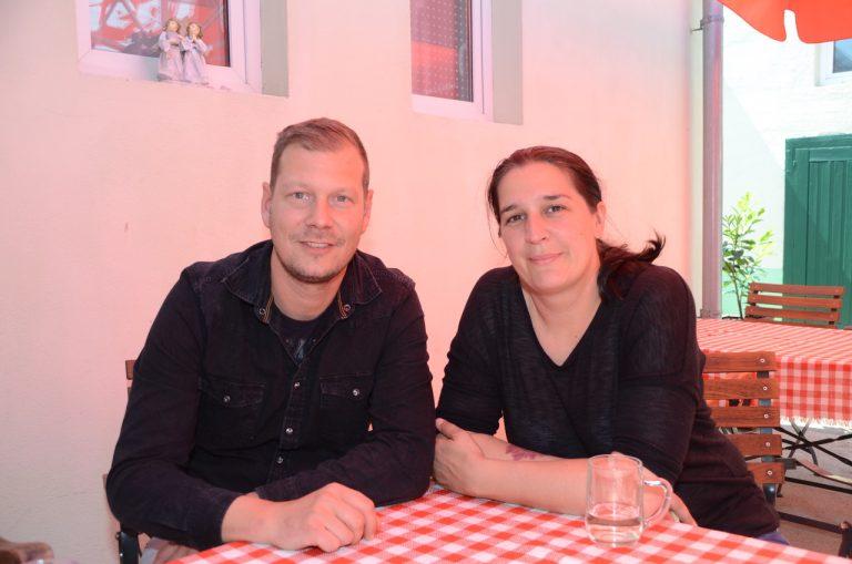 Heinrich Guzvan und Alexandra Köck