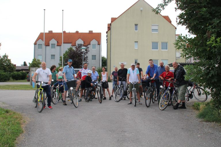 Marktgemeinde Reisenberg, Eröffnung des Radweges durch den Gemeinderat