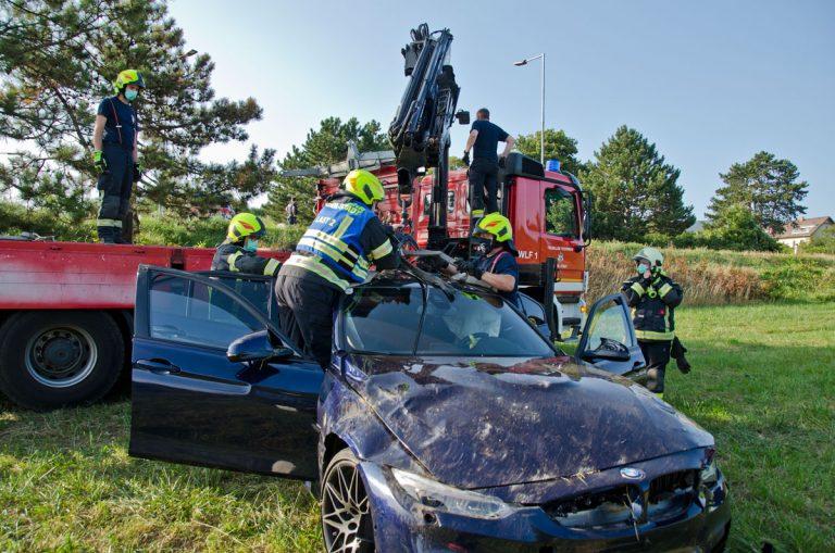 20200920 Verkehrsunfall auf der Pfaffstättnerstraße in Baden