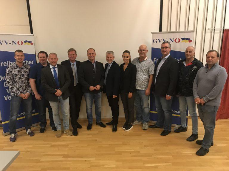 Neu gewählter Vorstand Baden