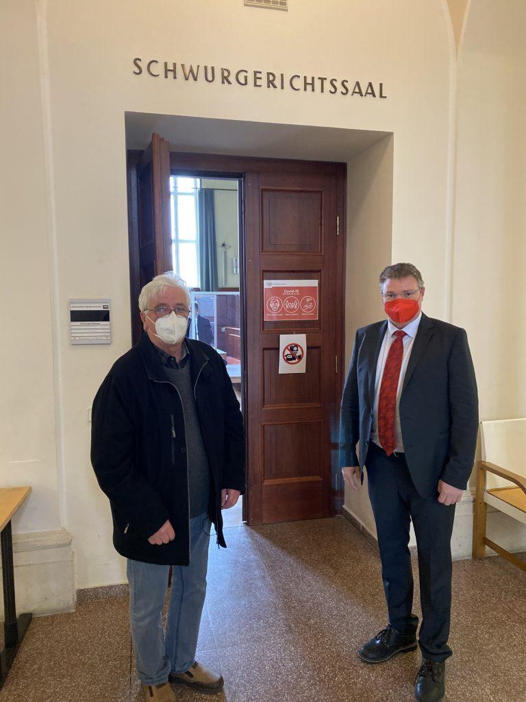 Vizebürgermeister Zeilinger und Bürgermeister Kocevar als Zeugen geladen
