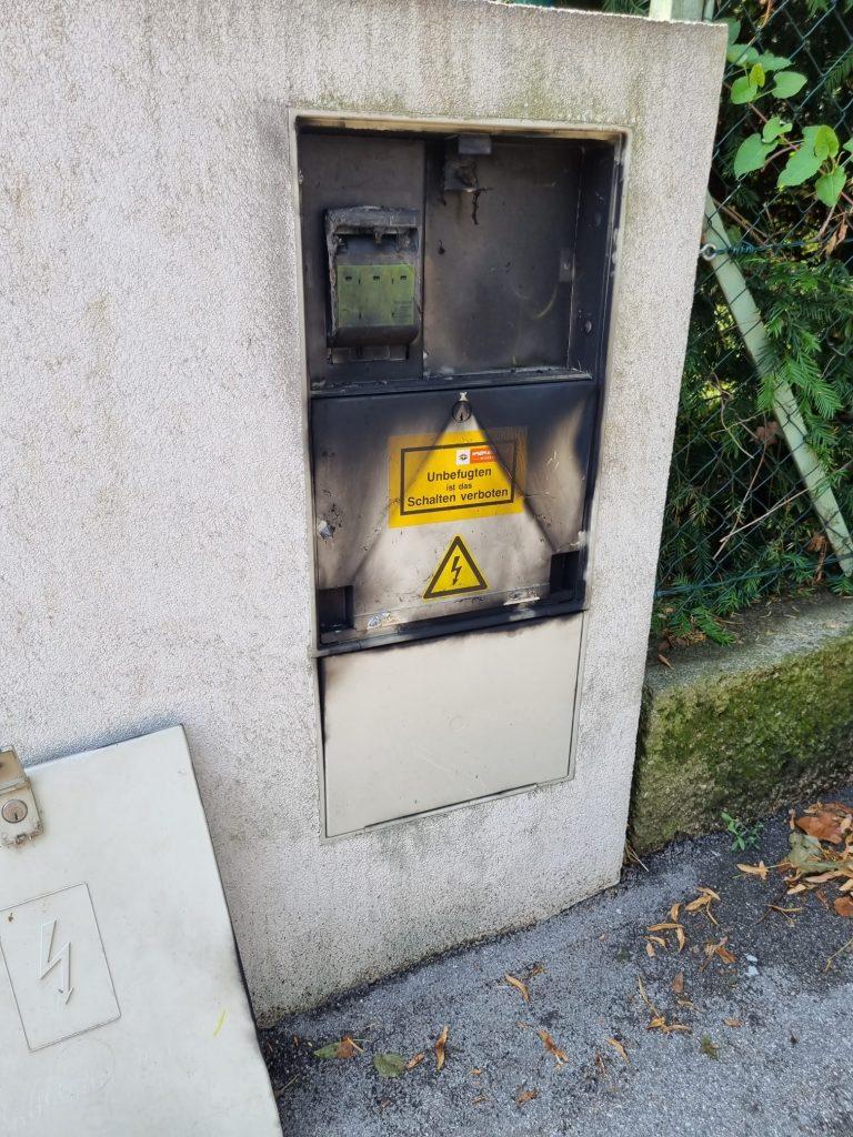 FF Brunn am Gebirge_Trafobrand