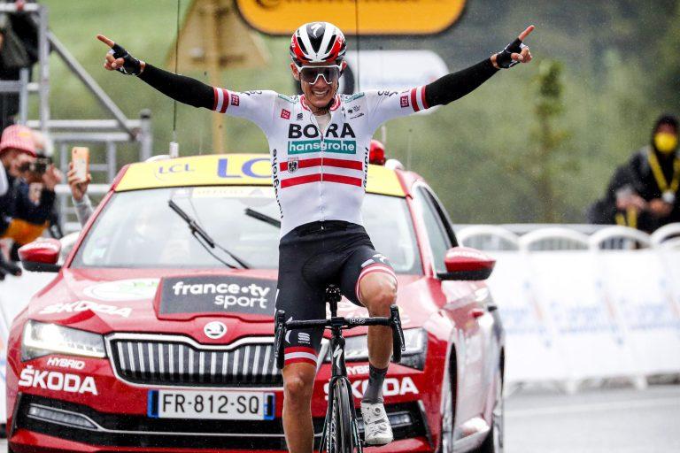 Tour de France 2021 - 108th Edition - 16th stage El Pas de la Casa - Saint-Gaudens 169 km - 13/07/2021 - Patrick Konrad (AUT - Bora - Hansgrohe) - photo Dion Kerckhoffs/CV/BettiniPhoto©2021