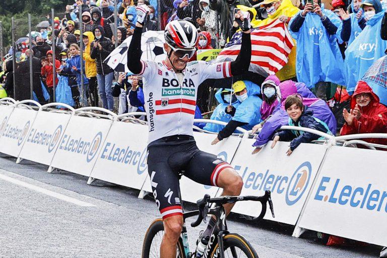 Tour de France 2021 - 108th Edition - 16th stage El Pas de la Casa - Saint-Gaudens 169 km - 13/07/2021 - Patrick Konrad (AUT - Bora - Hansgrohe) - photo Jan De Meuleneir/PN/BettiniPhoto©2021