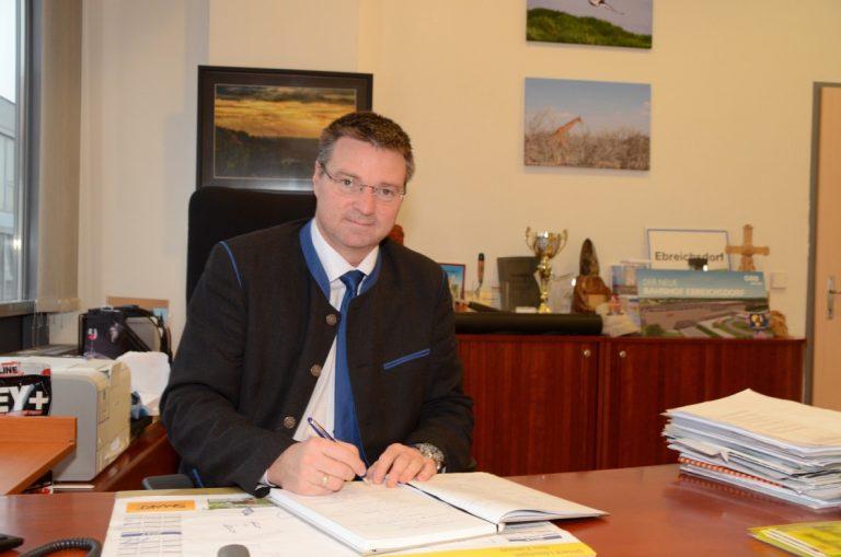 Bürgermeister Wolfgang Kocevar