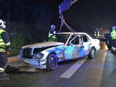 20201130 Verkehrsunfall A2 Traiskirchen-Baden