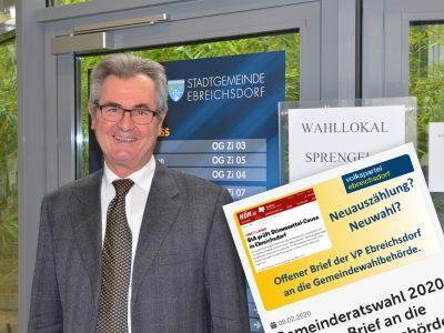 VP-Gemeindeparteiobmann Heinrich Humer